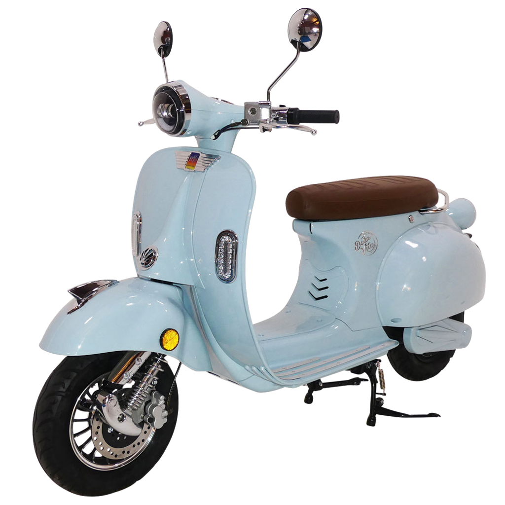 Blue Dolce Vita Electric Motor Scooter