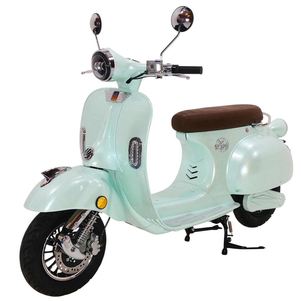 Green Dolce Vita Electric Motor Scooter